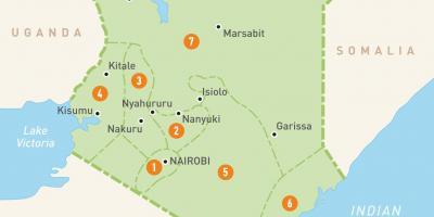 kart over kenya Kenya kart   Kart Kenya (Øst Afrika   Afrika) kart over kenya